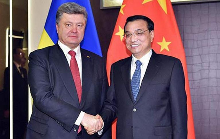 КНР желает свободно торговать с государством Украина