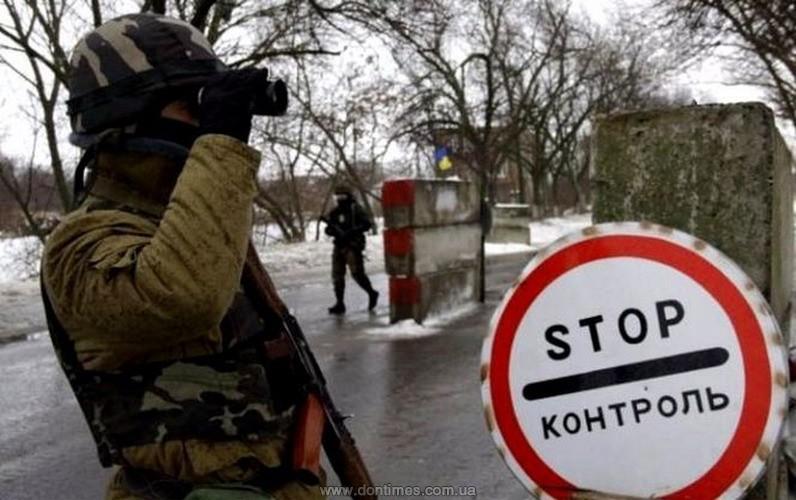 ДНР перекрыла движение через КПП «Октябрь» из-за обстрелов состороны ВСУ