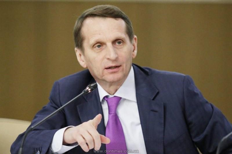В государственной думе назвали условие восстановления разговора сВР Украины