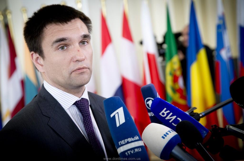Климкин: Российская Федерация ожидает смены мировых лидеров идоговариваться несобирается
