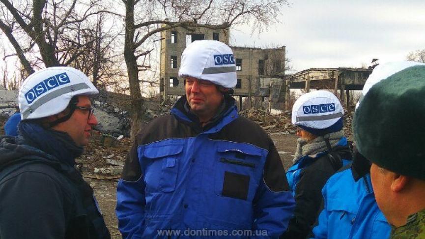 ОБСЕ потребовала закончить разрушение гражданской инфраструктуры Донбасса